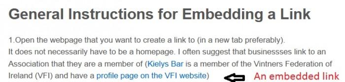 Embedded link