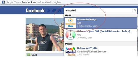 App Search on Facebook