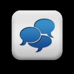 118221-matte-blue-and-white-square-icon-symbols-shapes-comment-bubbles