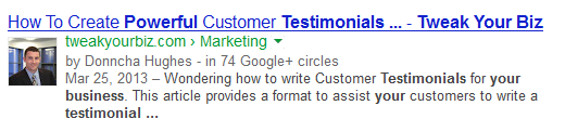 Google Authorship Tweak Your Biz
