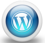 WordPress Logo in Orb