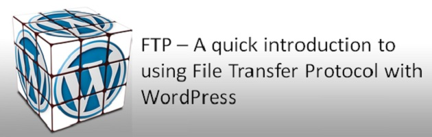 Using FTP client with WordPress (intro)