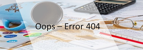 How to Customise your 404 Error Page?