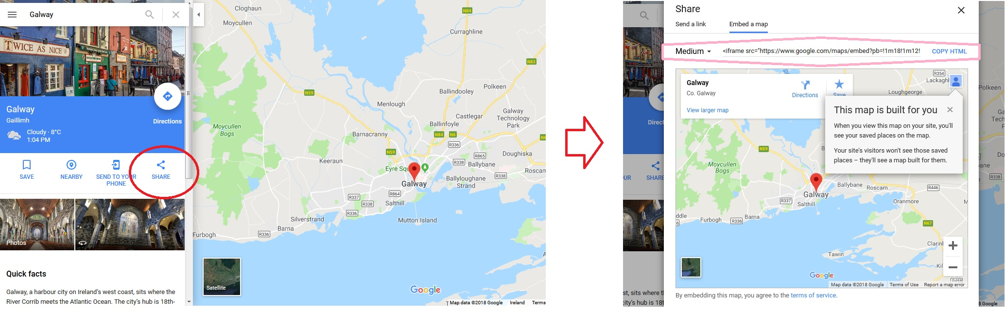 Simple Google Map Embed
