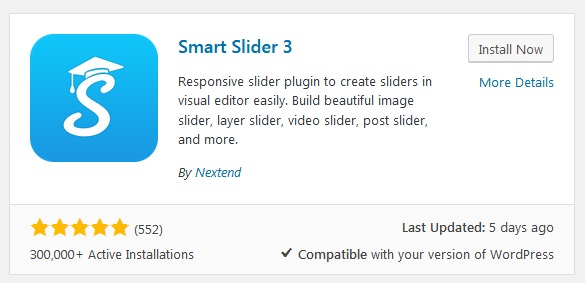 Smart Slider 3 by Nextend WordPress Plugin