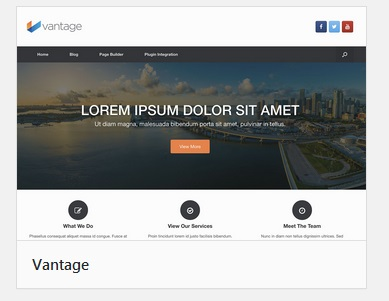 Vantage Theme by SiteOrigin