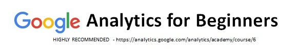 Google Analytics for Beginners Highly Recommended