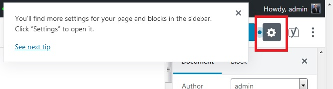 WP Block Editor Tip 2