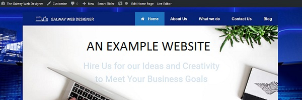 example website startupwebtraining