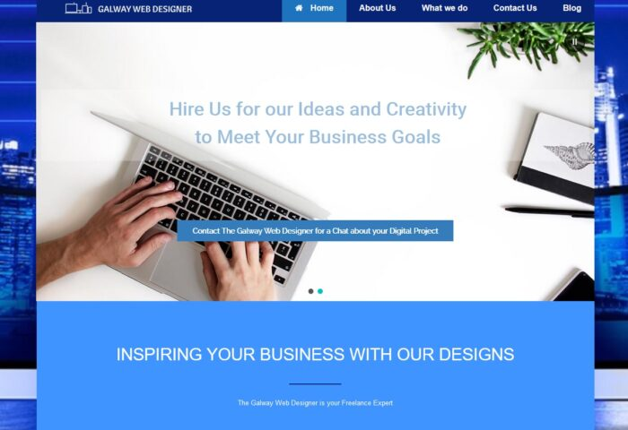 Galway Web Designer Website